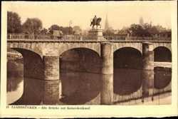 Alte Brücke, Kaiserdenkmal