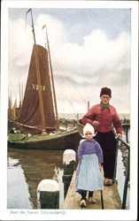 Aan de haven, Volendam
