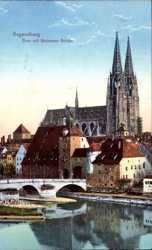 Dom mit Steinerner Brücke