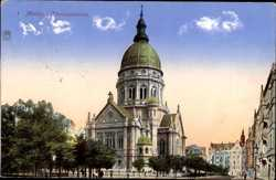 Blick auf Christuskirche