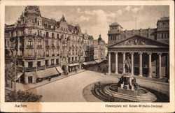 Theaterplatz, Kaiser Wilhelm Denkmal