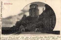 achteckiger Turm, Altan