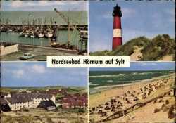 Hörnum, Strand, Leuchtturm