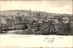Panorama mit Dom und Rathaus