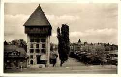 Rheinbrücke mit Rheintorturm
