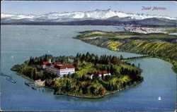 Luftbild von der Insel