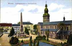 Ludwigsdenkmal, Martinskirche
