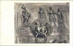 Bernwardstür, Anbetung der hl. drei Könige