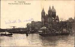 Prins Hendrikkade met St. Nicolaaskerk