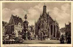 Neptunbrunnen mit Frauenkirche