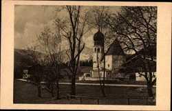 Kirche und Gasthaus Au