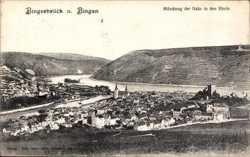 Mündung der Nahe in den Rhein