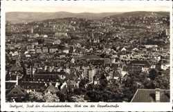 Blick von Zeppelinstraße