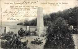 Dänisches Kriegergrab
