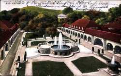 Drei Badesprudel, Park, Kurhaus, Johannisberg