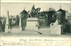 Denkmal, Kaiser Wilhelm I., Reiterdenkmal