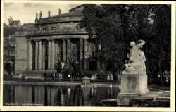 Landestheater, Denkmal, Wasserkunst