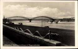 Skaggerakbrücke, Hochwasserschlange