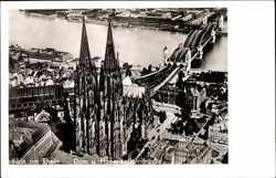 mit Hohenzollernbrücke