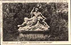 Eberhardsgruppe in den Anlagen