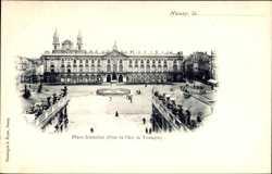 Place Stanislas, pirs Arc de Triomphe