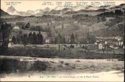 Le Fond d'Ossau, vu de la Place Royale