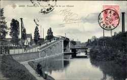 Passerelle et Pont du chemin de Fer