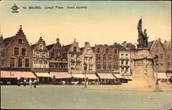 Grand Place, Vieux pignons