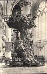 Chaire de l'Eglise Saint Rombaut