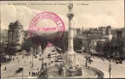 Fontaine Cantini, Avenue du Prado