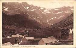 Cirque vu du Village