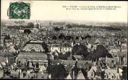 Vue sur le Ville, Basilique Saint Martin