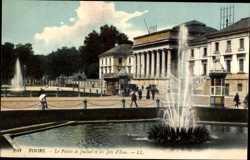 Le Palais de Justice et les d'Eau