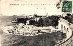 La Corniche, Vue generale de Malmousque