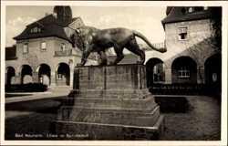 Löwe im Sprudelhof