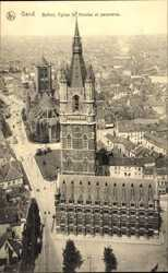 Beffroi, Eglise St. Nicolas et panorama