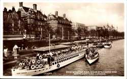 Westminster Pier, River Steamers, Scotland Yard