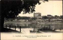 Chateau, Loire, Quai