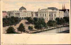 Landesbibliothek, Landesausschussgebäude