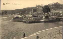 Brücke und Fluss