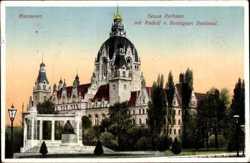 Neues Rathaus, Rudolf Bennigsen Denkmal