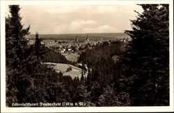 Blick auf die Ortschaft