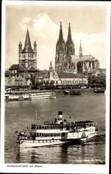 Rheinpartie, Dampfer