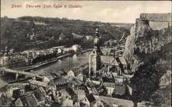 Panorama, Pont, Eglise, Citadelle