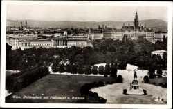 Heldenplatz, Parlament, Rathaus