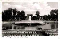 Tanzbrunnen, Messegelände