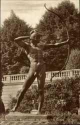 Bogenschütze im Sizilianischen Garten