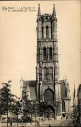 Facade de la Cathedrale St. Bavon