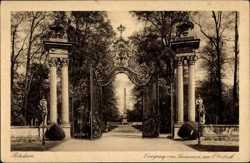 Eingang, Obelisk