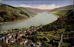 Panorama mit Burg Stahleck